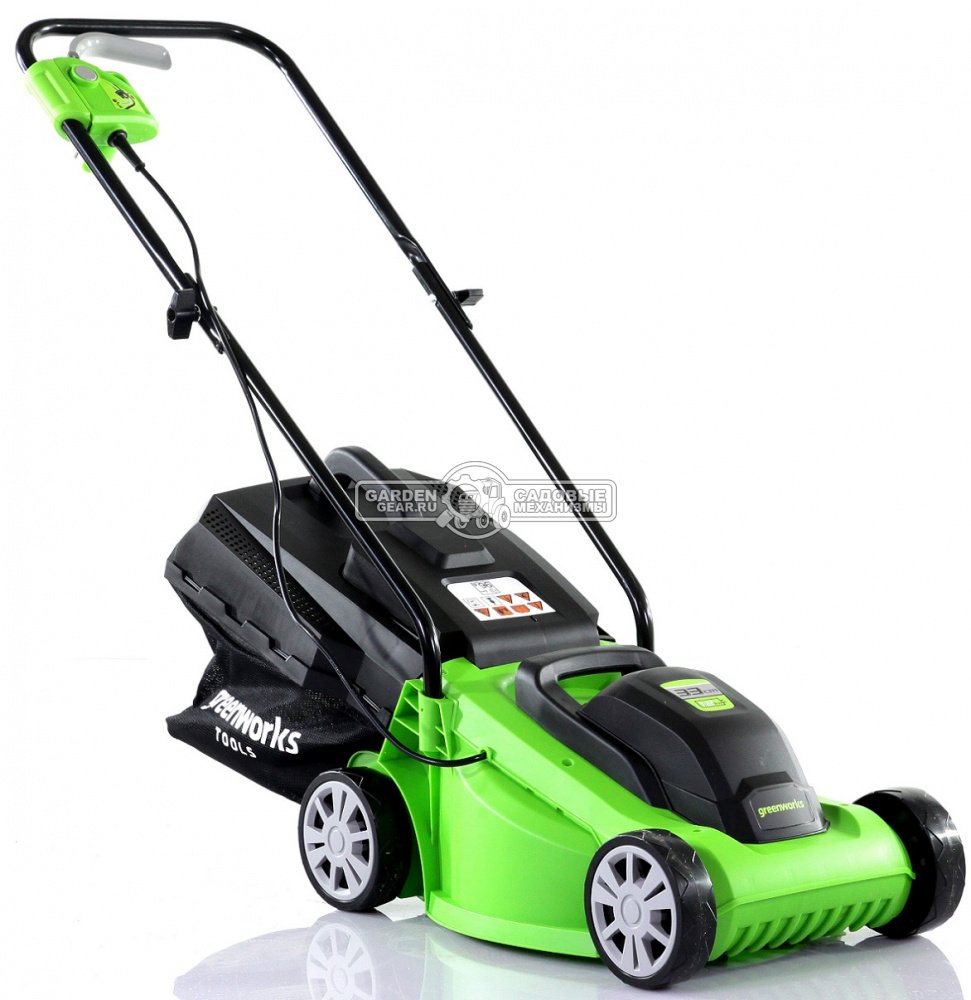 газонокосилка электрическая Greenworks Glm1232 1200