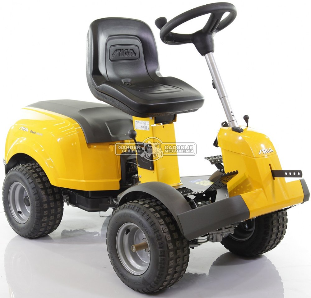 Купить Садовый райдер Stiga Park Compact 340 PX 4WD без деки (ITA, B&S Intek 4155, 500 куб.см., гидростатика, полный привод, 194 кг.) в Санкт-Петербурге |