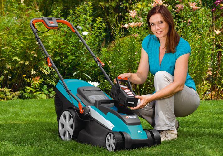 Выбор газонокосилки: аккумуляторная модель