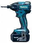 "���������� �������������� ������� Makita DTD129SHE (Li-ion, 18 �, 1,3 �/�, 2 ���., 1/4"" ���������., 1,5 ��, 160 ��, �5-�14, ���.)"