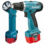 �������������� �����-���������� Makita 6261DWPLE (NiCd, 9,6 �, 1,3 �/�, 24/14 ��, 2 ���, 1,4 ��, ���., ������)