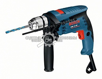 Дрель Bosch GSB 13 RE Professional (RUS, 600 Вт, БЗП, 1,8 кг)