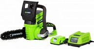 ���� �������������� ������ GreenWorks G24CS25K2 (PRC, Li-ion, 24V, 2 �/�, 1 ���. � �/�, 10''/25 ��, 3,15 ��)