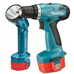�������������� �����-���������� Makita 6281DWPLE (NiCd, 14,4 �, 1,3 �/�, 36/20 ��, 2 ���, 1,6 ��, ���., ������)