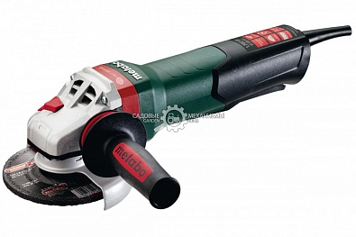 Угловая шлифмашина Metabo WEPBA 17-125 Quick (GER,1700 Вт,125 мм,11000 об/мин,торм, автоб, неф.выкл.,2.7 кг.)