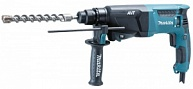 Перфоратор Makita HR2611FT (800 Вт, SDS+, 2,9 Дж, 3 реж., 3 кг, БЗП, чем., ABT, н-р буров D-00795)